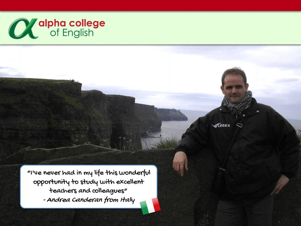 """I've never had in my life this wonderful opportunity to study with excellent teachers and colleagues"" - Andrea Canderan from Italy"