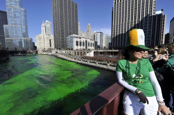 Chicago Celebrates St. Patricks Day