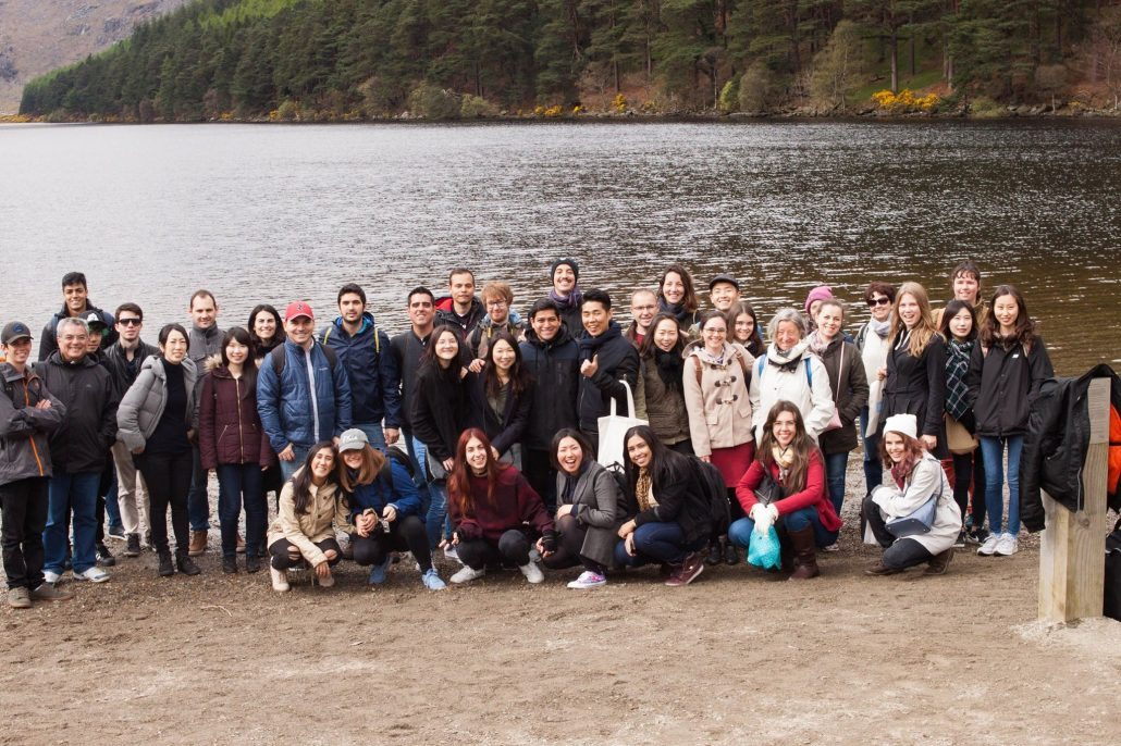 Group Photo by the lakes