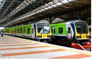 trains in Dublin