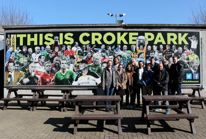 Croke park group photo