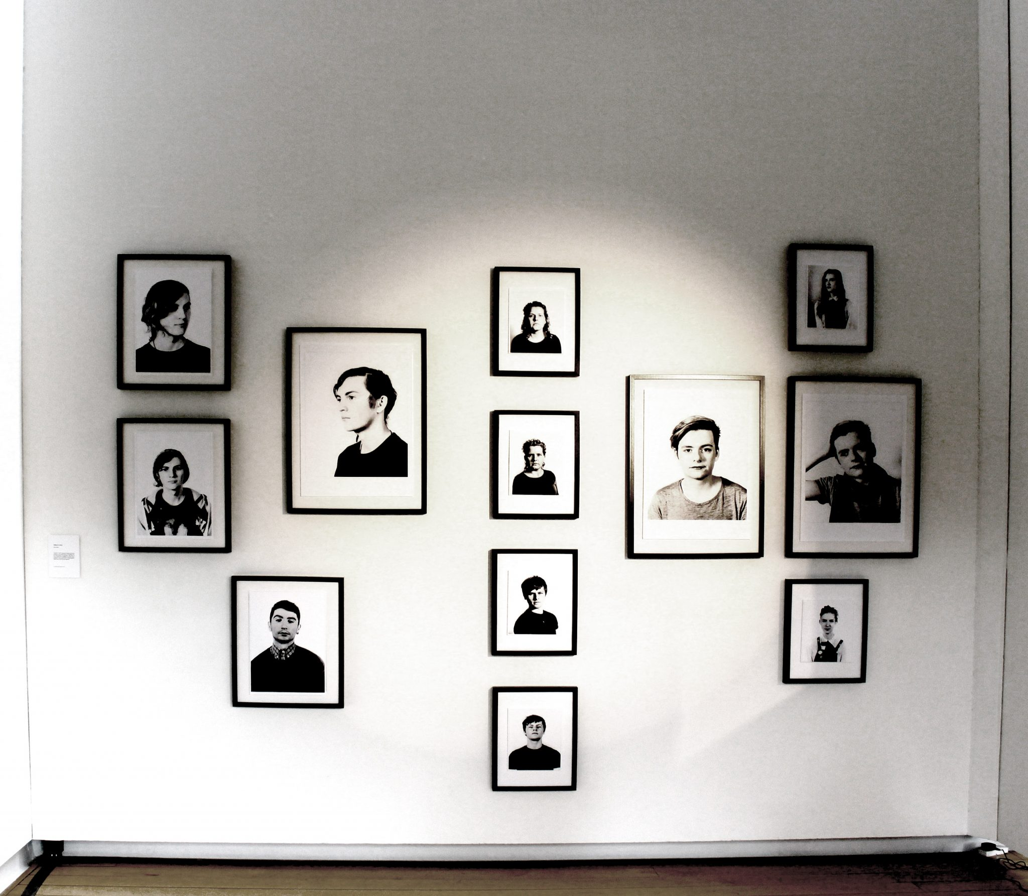 Photo exhibition at the Gallery of Photography in Dublin- portraits