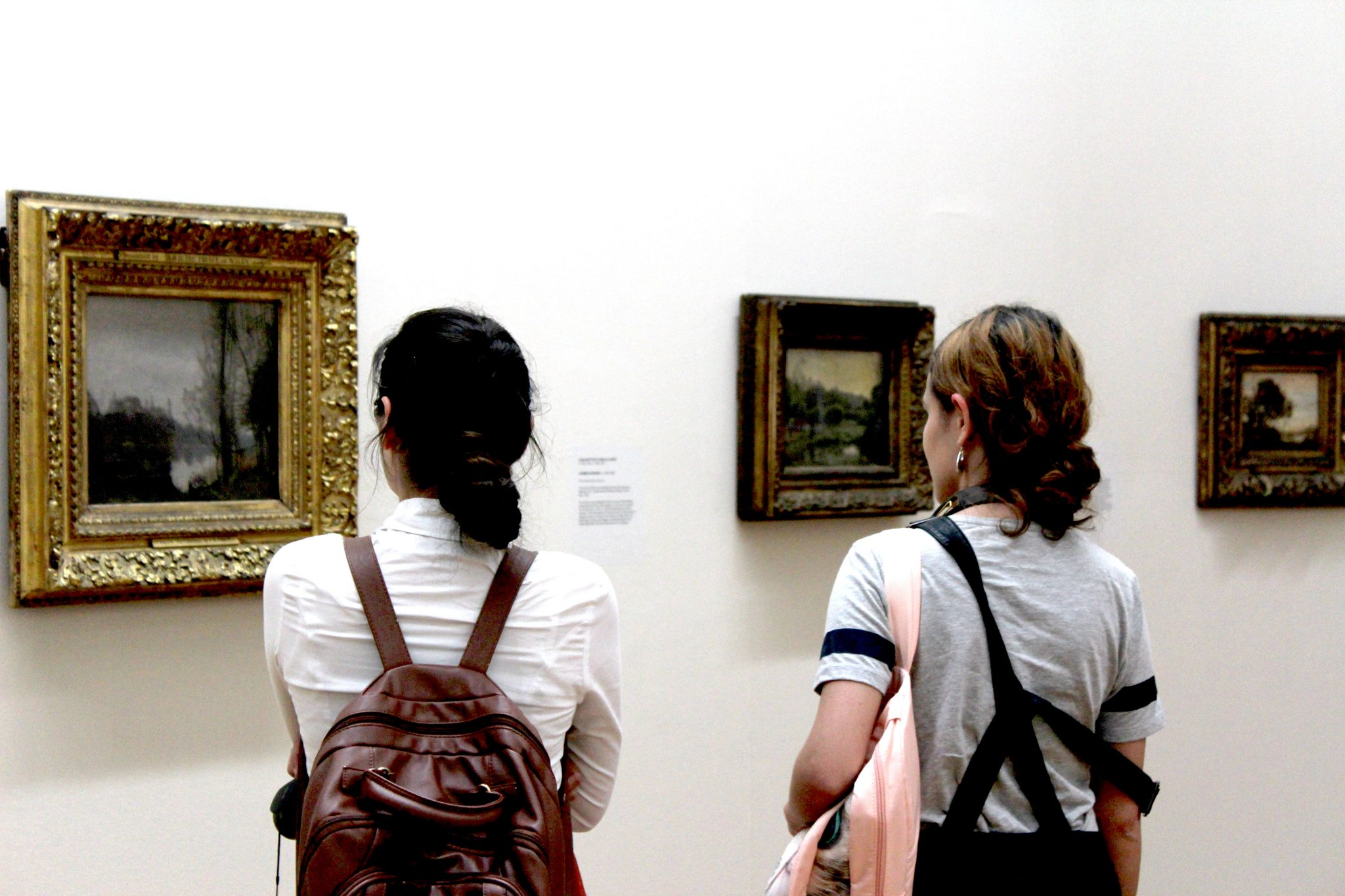 Students at the Hugh Lane Gallery