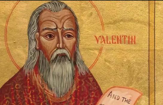 St Valentine.