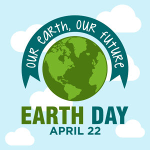 World Earth Day poster.